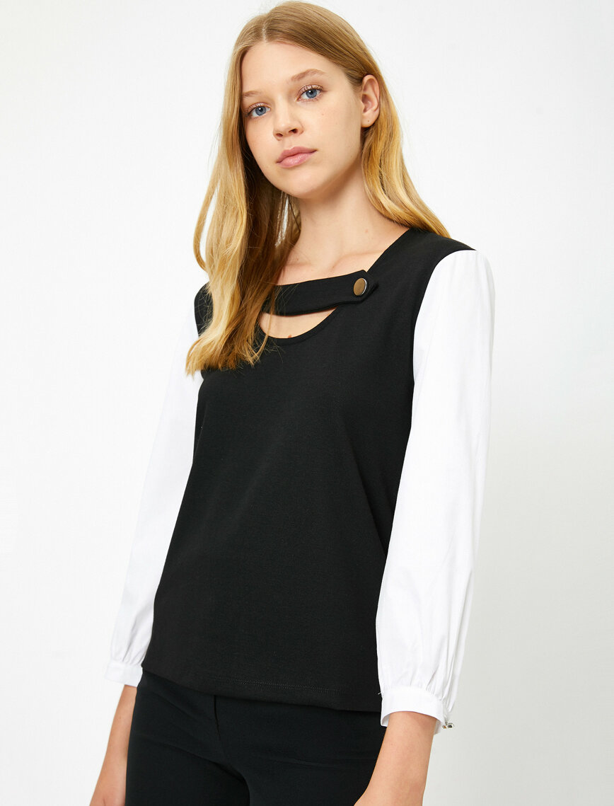 women's/ladies fashion blouses clothing manufacturer private label